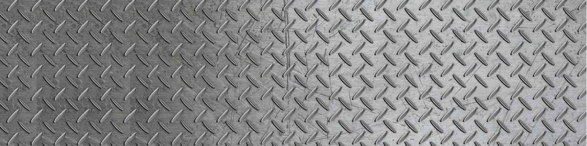 Metal Floor 1200 x 300
